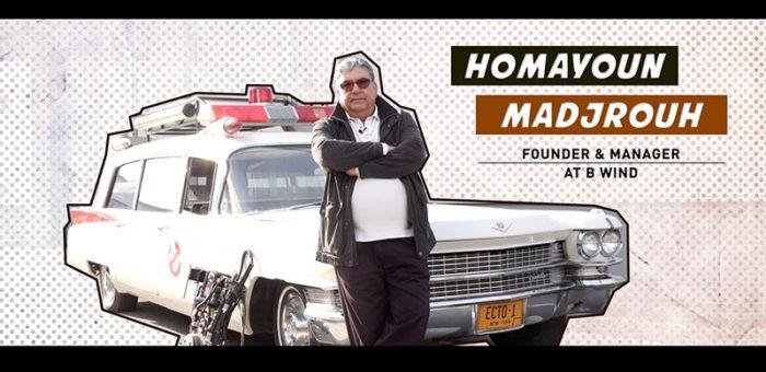 Ghost'interview avec Homayoun Madjrouh de B Wind
