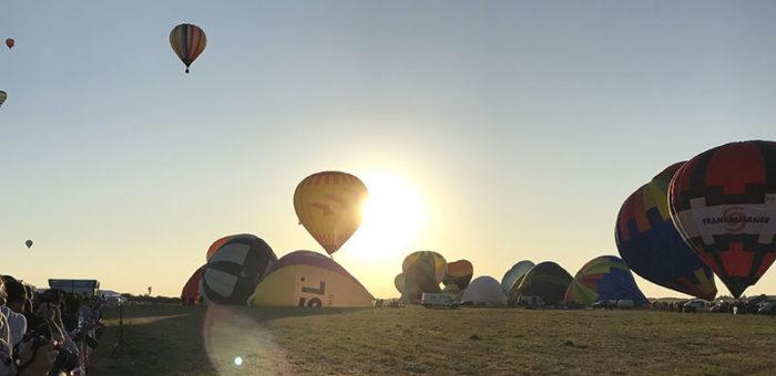 Le spectacle inoubliable des montgolfières de Chambley